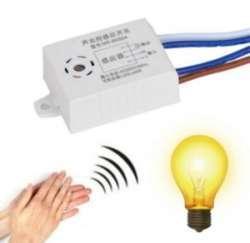 Модуль управления светом с датчиком звука и освещения