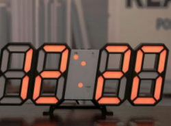 Электронные настенные часы с Алиэкспресс - лучшая моя покупка этого года