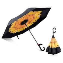 Реверсивный зонтик: новый дизайн, новые возможности