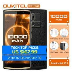 Oukitel K7 - младший брат модели К10