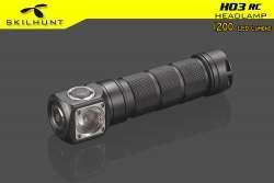 Обзор налобного фонаря Skilhunt H03 RC (CW)