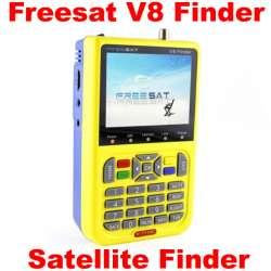 Satellite finder Freesat V8 Finder V-71HD - прибор для настройки спутниковых антенн, с ТВ приемником и встроенным аккумулятором.