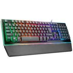 Trust Thura: интересная полумеханическая клавиатура с RGB-подсветкой
