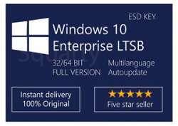Лицензия для Microsoft Windows 10 Enterprise LTSB 2016 - моя самая необычная покупка на ebay