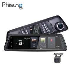 Phisung V9 – автомобильное зеркало регистратор, навигатор, и еще много чего. Попытка номер два.
