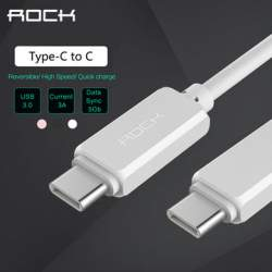 Кабель ROCK Superior USB Type C - Type C