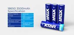 Новые защищенные li-ion аккумуляторы 18650 3500мАч и 26650 5200мАч от Xtar