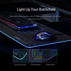 Большущий игровой коврик с подсветкой для мышки от Orico