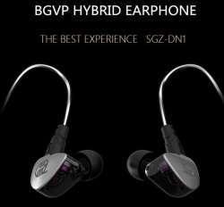 Гибридные наушники BGVP SGZ-DN1, со сменным кабелем и по доступной цене.