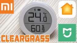 Xiaomi Cleargrass H: новый датчик температуры и влажности, интеграция с Apple Homekit и MiHome