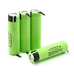 Аккумуляторы NCR18650B 3400mAh с контактными лепестками