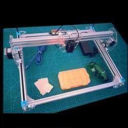 Лазерный гравер мощностью 2500mW. Практическое применение.