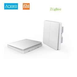 Одноклавишный бесконтактный выключатель Aqara, для системы умный дом Xiaomi