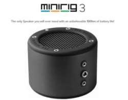 Обзор Bluetooth колонки Minirig 3 - мощно, круто, сделано в UK
