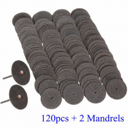 Армированные режущие круги для дремеля, 120 штук