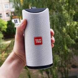 Bluetooth колонка TG113  (fm, micro sd, usb, aux)
