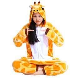 Обзор пижамы кигуруми в виде жирафа