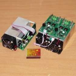 Пара электронных нагрузок в виде отдельных модулей
