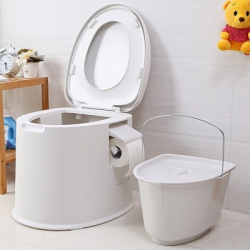 Переносной туалет для дачи или пожилых людей. Новая 'утка' по китайски.