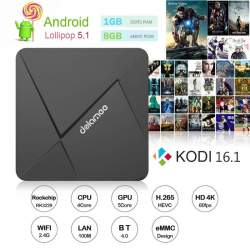 TV Box DoLaMee D5 на Rockchip RK3229 с Android 5.1
