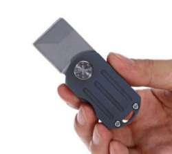 Микро-нож с элементами титана от FURA. Отличная мужская игрушка
