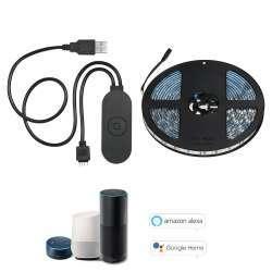 Светодиодная лента 5м RGB с USB WIFI контроллером