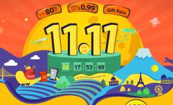 Отличные скидки на товары к 11/11 - товары по 1.11$ и по 11.11$ УСПЕЙ КУПИТЬ!!!