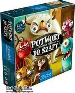 Обзор-отзыв настольной игры польской фирмы «Гранна» (Granna) 'Монстры, марш в шкаф'
