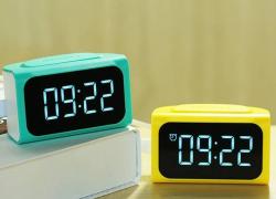 LED часы Remax RMC-05 с зарядным устройством на 4 USB выхода