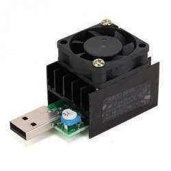 Электронная USB нагрузка JUWEI с регулируемым током потребления