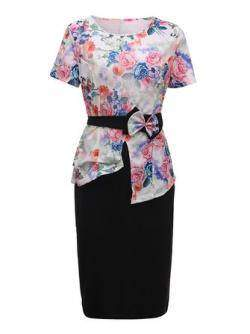 Женский комплект: блузка, юбка