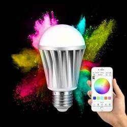 Диммируемая LED лампа меняющая цвета ARILUX™ AL-B01 с Bluetooth 4.0 на борту.