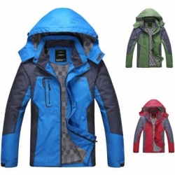 Outdoor Cycling Men Jacket Windproof Hooded