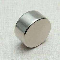 Неодимовый магнит-шайба марки N52 размером 20 на 10 мм и его применение. Микро-обзор.