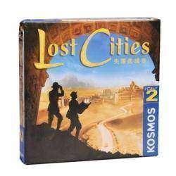 Обзор настольной игры 'Затерянные города' (Lost Cities) в дорожной упаковке
