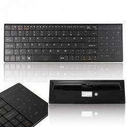 Портативная Bluetooth клавиатура с сенсорной панелью