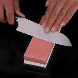Двухсторонний искусственный водный камень 3000/8000 грит, для заточки ножей.