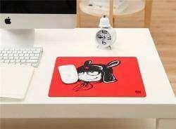 Красный коврик для мыши с веселым кроликом Xiaomi