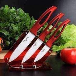Керамические ножи с подставкой