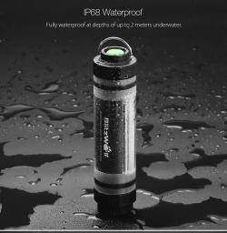 Туристический фонарь BlitzWolf® BW-LT5 IP68 он же UY-Q7M 4