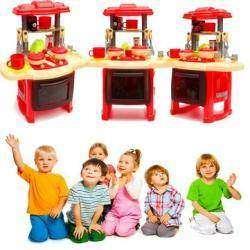 Обзор детской кухни со световыми и звуковыми эффектами
