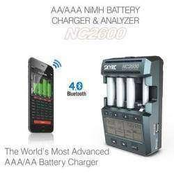SkyRC NC2600 - многофункциональное зарядное устройство и анализатор для AA/AAA NiMH/NiCd аккумуляторов.
