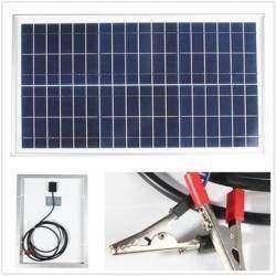 20 Вт поликристаллическая солнечная панель
