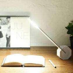Настольная лампа от BlitzWolf® с довольно необычным дизайном.
