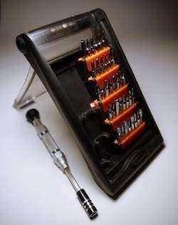 Отвертка с набором бит JAKEMY JM-8151 38 in 1