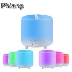 Увлажнитель воздуха - аромадиффузор Phlanp 500 ml с функцией ночника