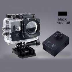 Самая дешевая экшн камера с креплениями и аквабоксом