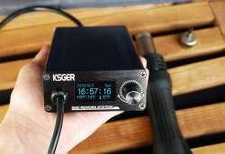 Хорошая термовоздушная паяльная станция KSGER 700Вт (паяльный фен)