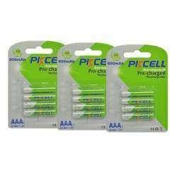 Отличные аккумуляторы PKCELL ААА 850mah. Тест на разряд