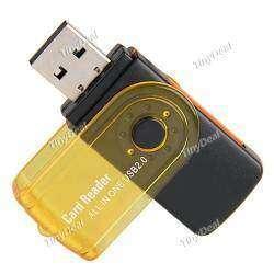 USB 2.0 Hi-Speed Card Reader